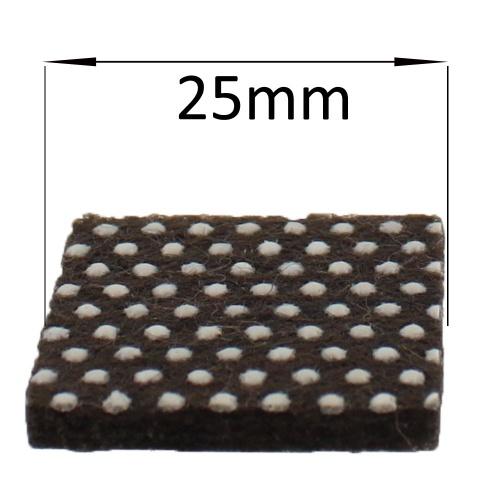 25mm Non Slip Self Adhesive Furniture Felt Pads Protect